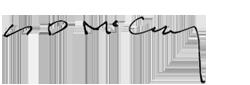 Signature of Shawn McCaney